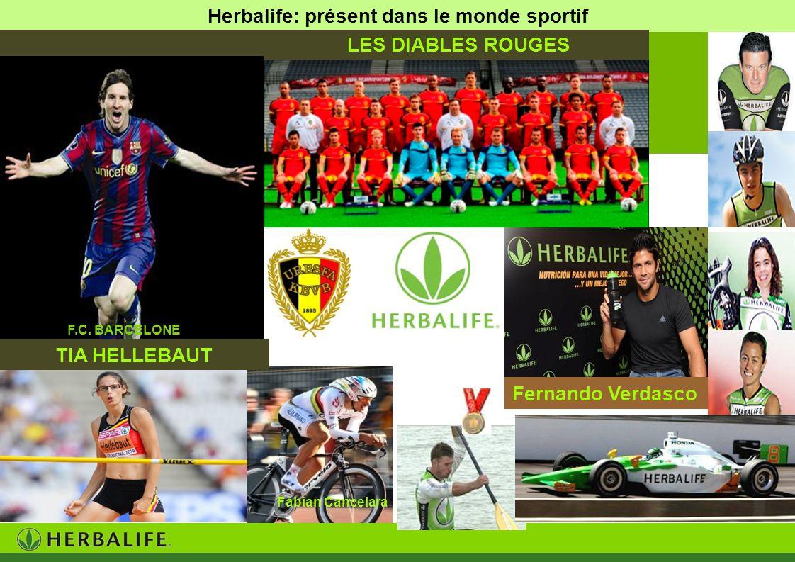 Herbalife: présent dans le monde sportif