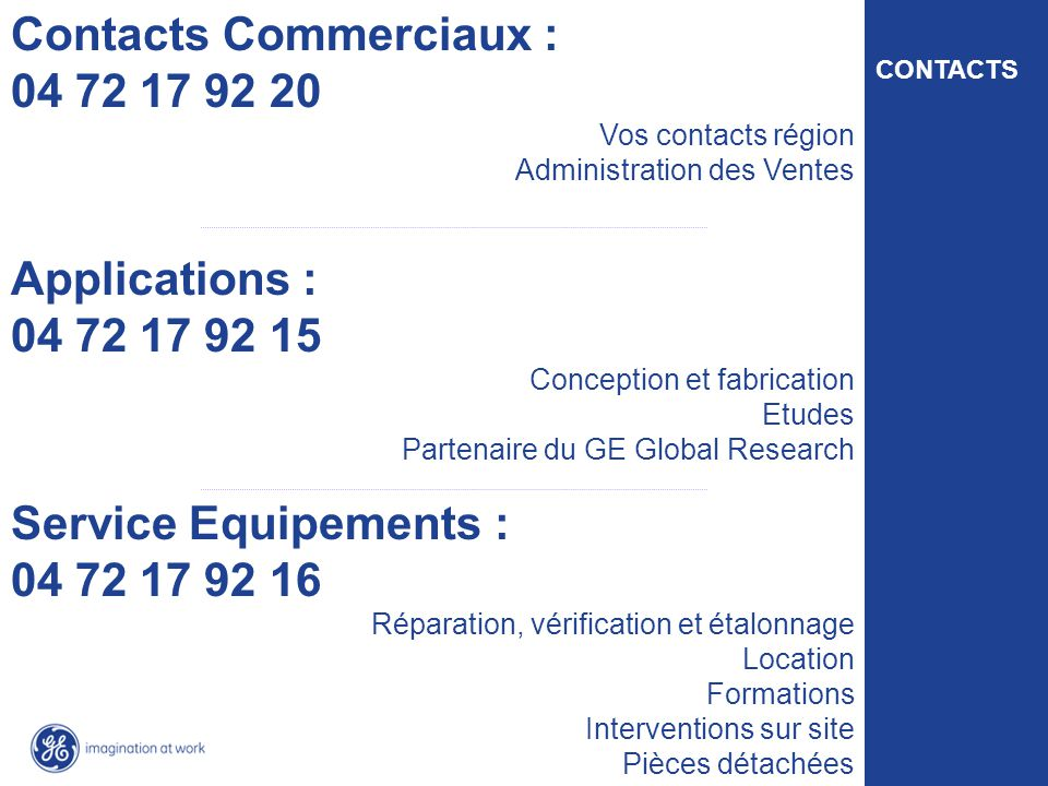 Contacts Commerciaux : 04 72 17 92 20