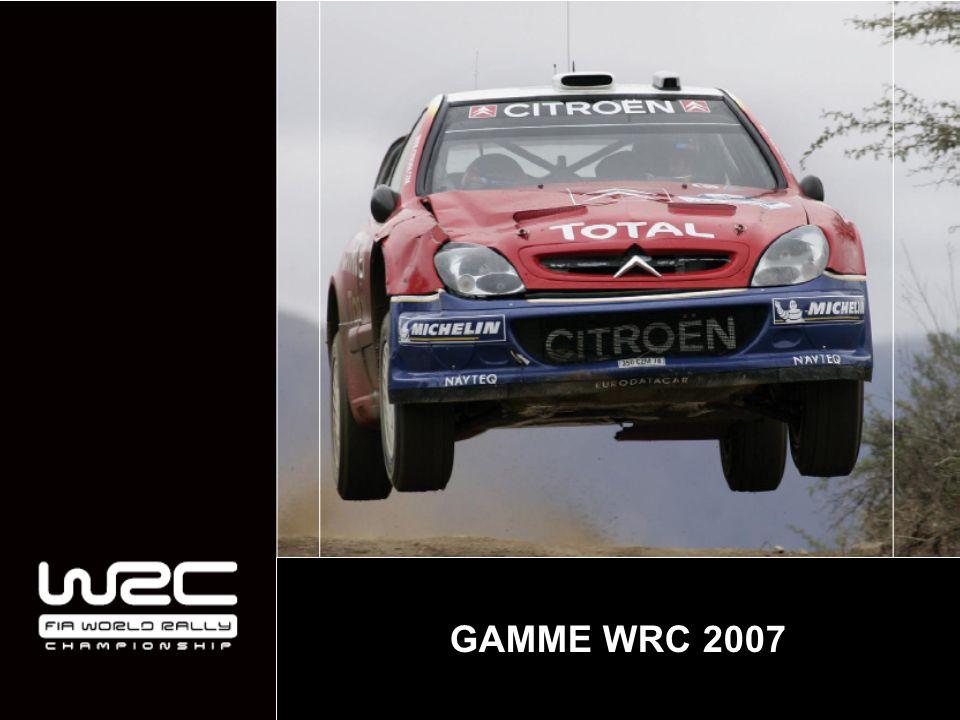 GAMME WRC 2007