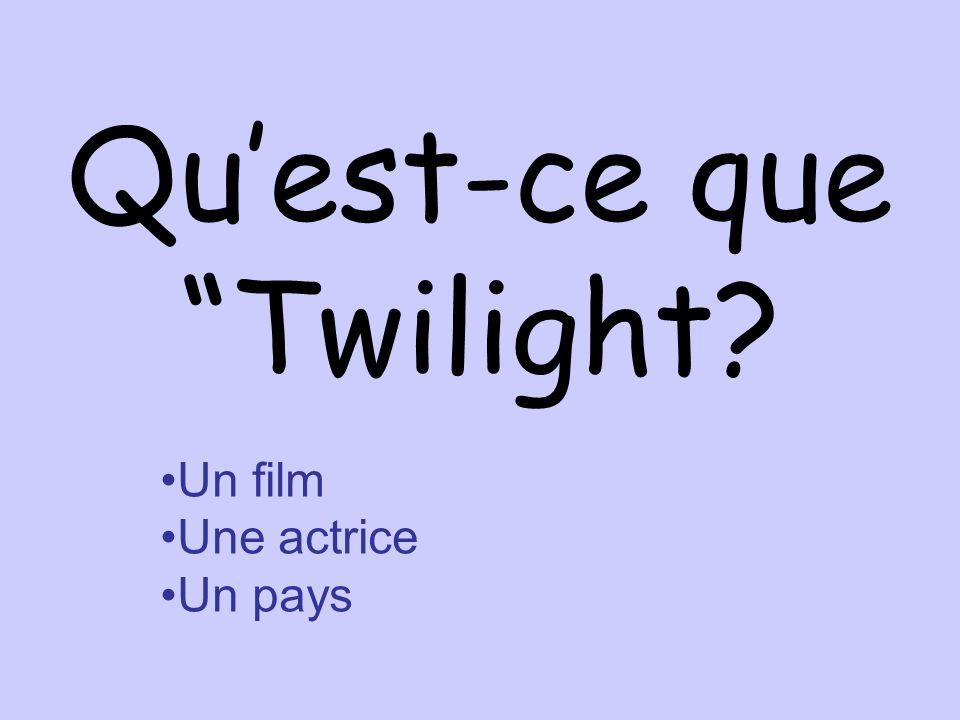 Qu'est-ce que Twilight