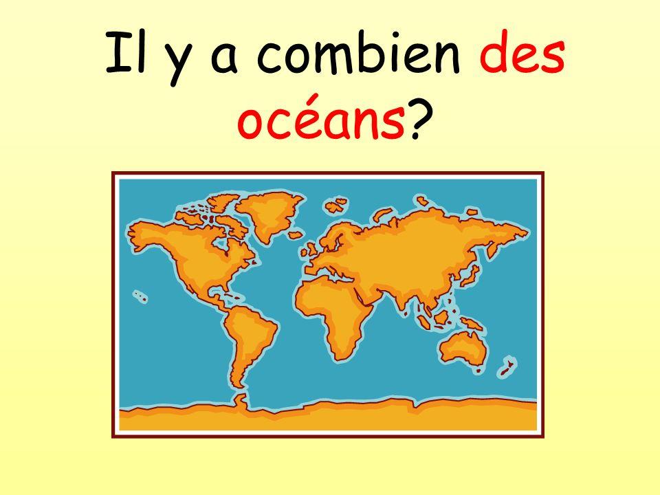 Il y a combien des océans