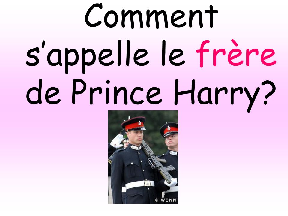 Comment s'appelle le frère de Prince Harry