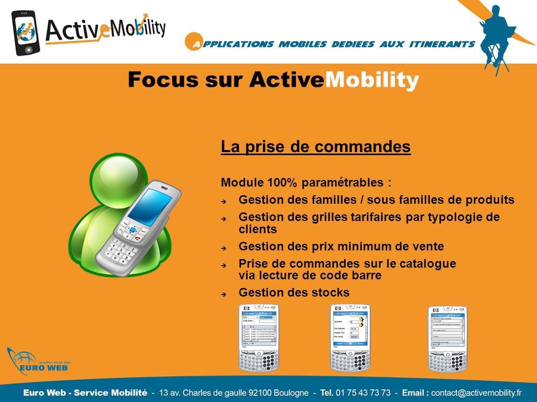 Focus sur ActiveMobility