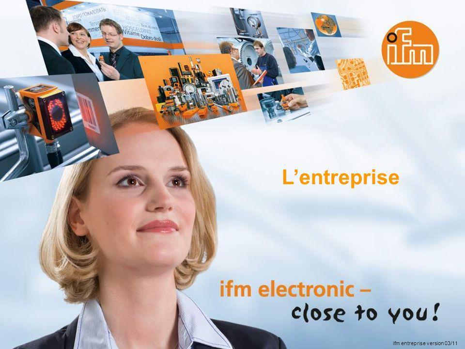L'entreprise ifm entreprise version 03/11