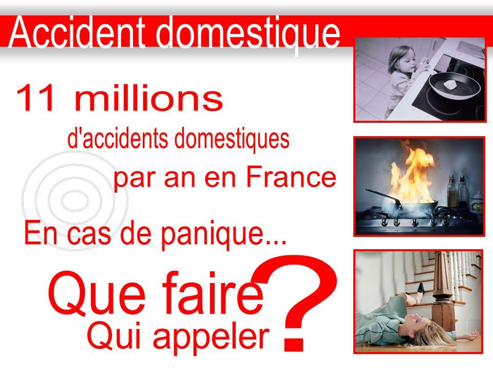d accidents domestiques