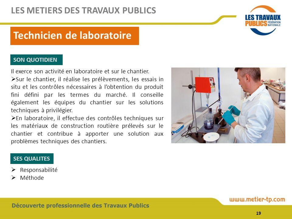 Technicien de laboratoire