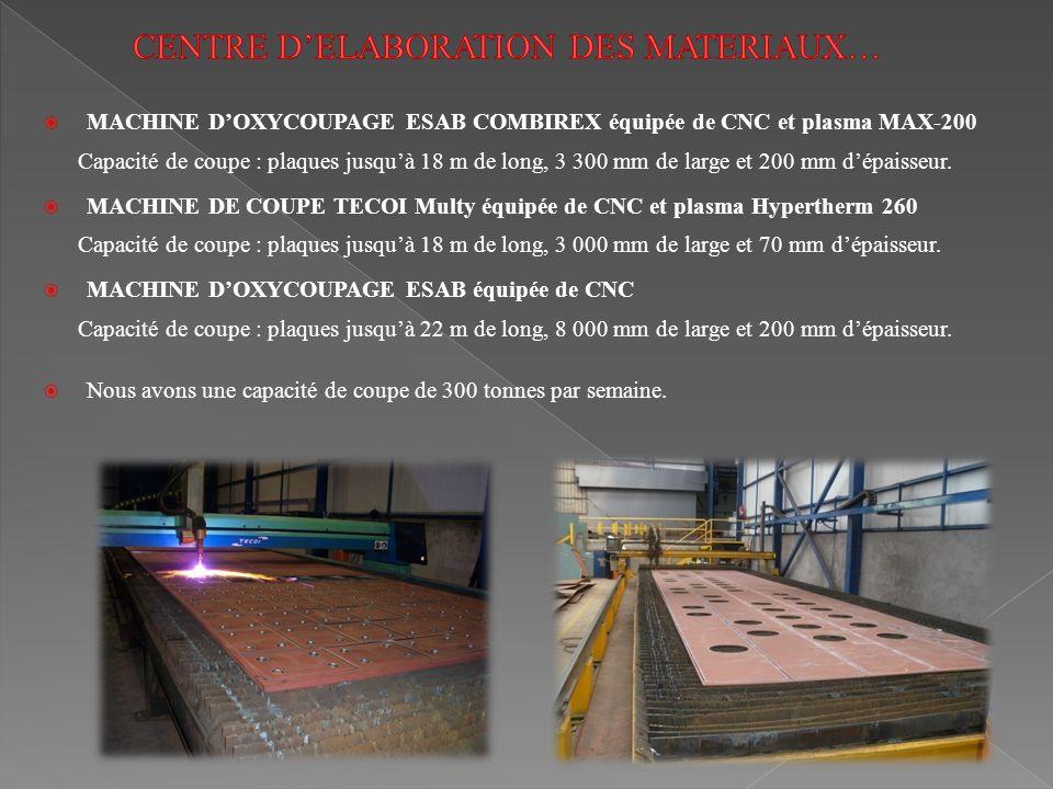 CENTRE D'ELABORATION DES MATERIAUX…