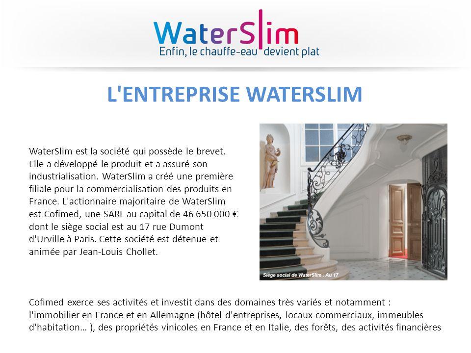 L ENTREPRISE WATERSLIM