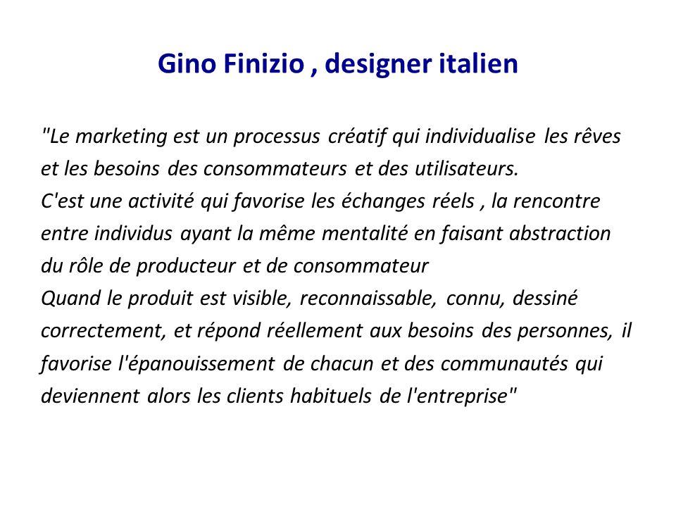 Gino Finizio , designer italien