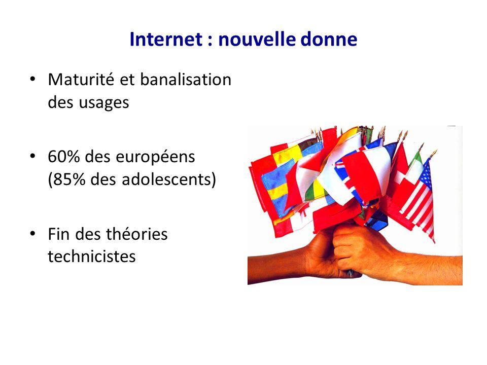Internet : nouvelle donne