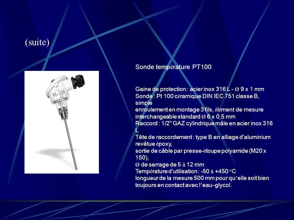 (suite) Sonde température PT100