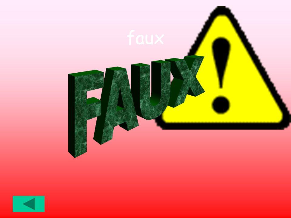 faux FAUX