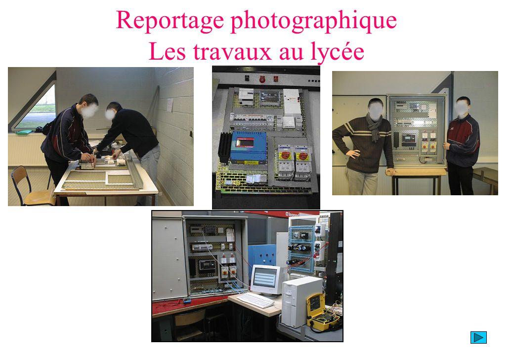 Reportage photographique Les travaux au lycée