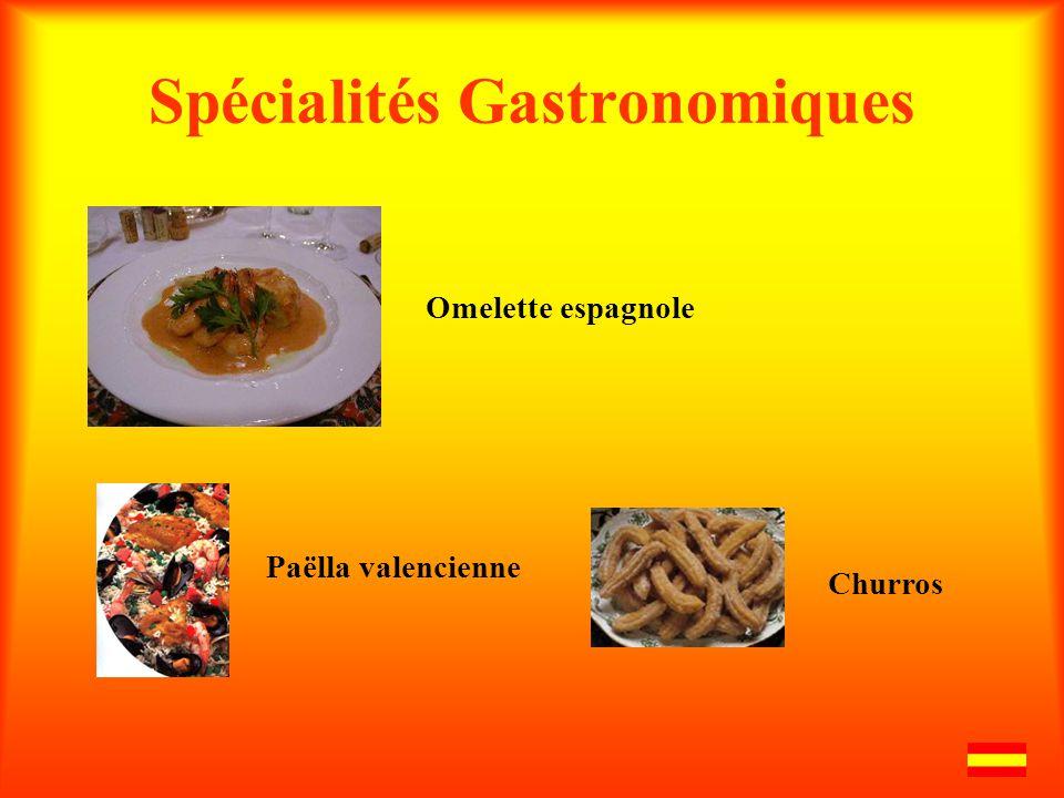Spécialités Gastronomiques