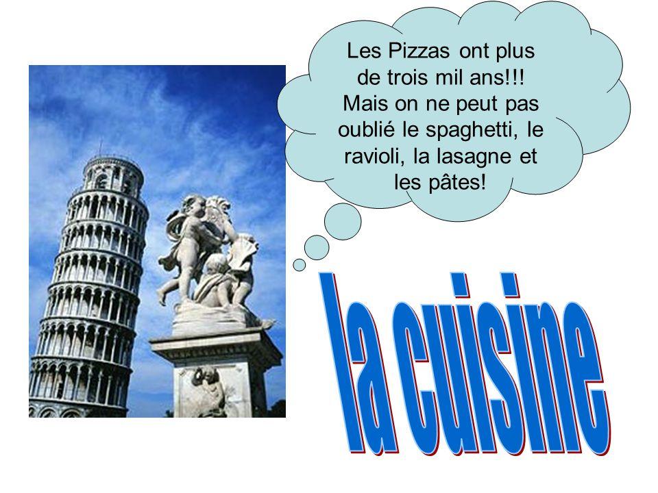 Les Pizzas ont plus de trois mil ans!!!