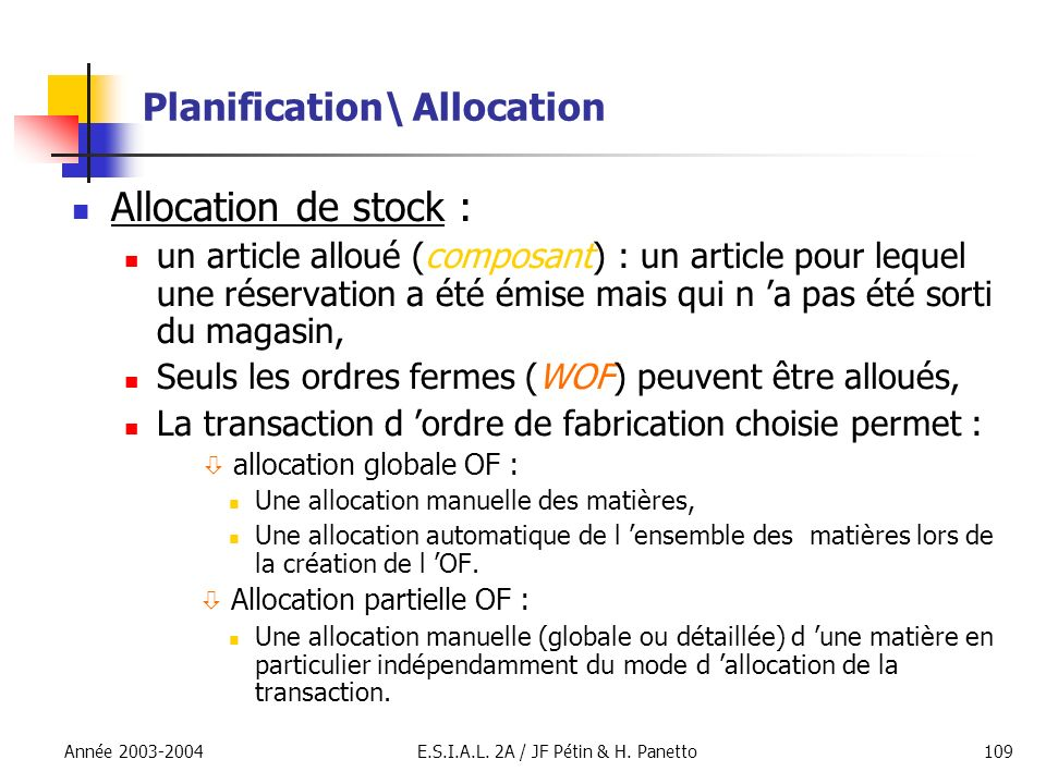 Planification\ Allocation