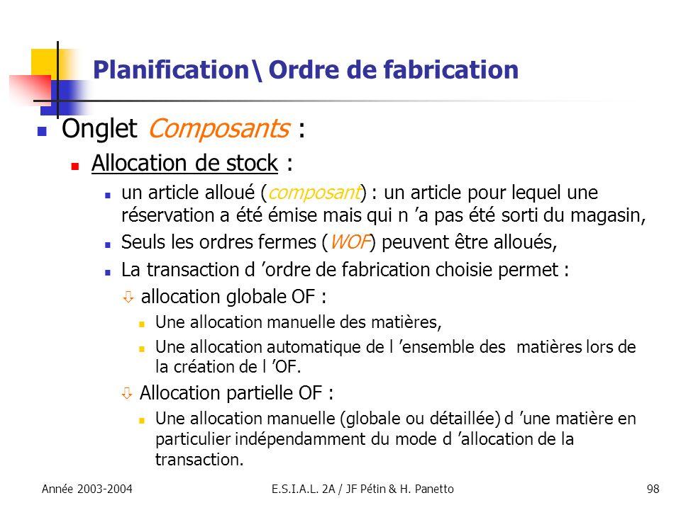 Planification\ Ordre de fabrication