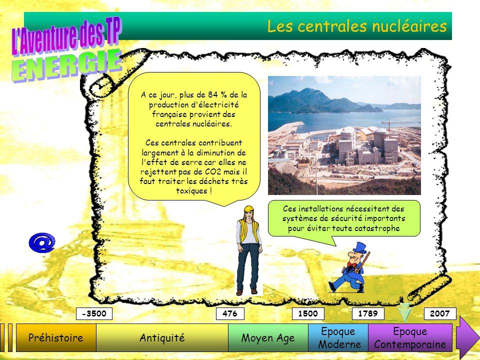 Les centrales nucléaires