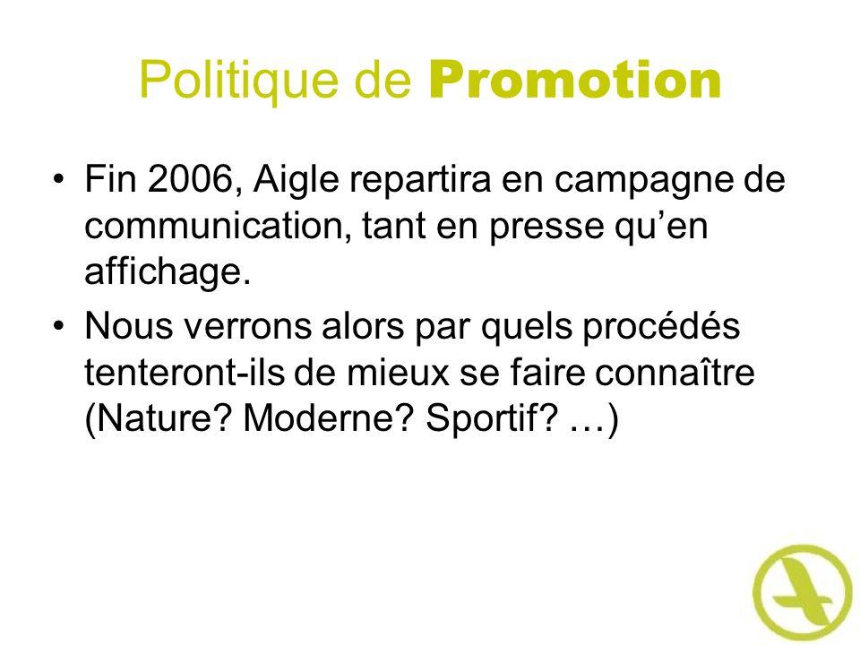 Politique de Promotion