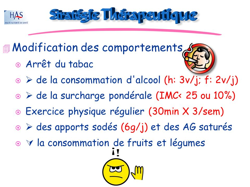 Modification des comportements