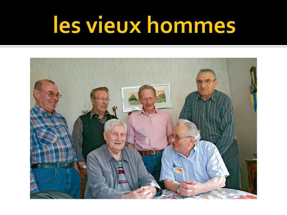 les vieux hommes