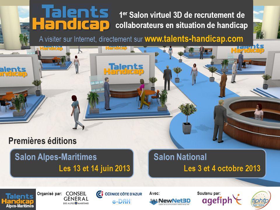 A visiter sur Internet, directement sur www.talents-handicap.com