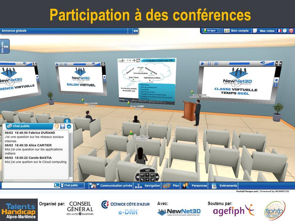 Participation à des conférences