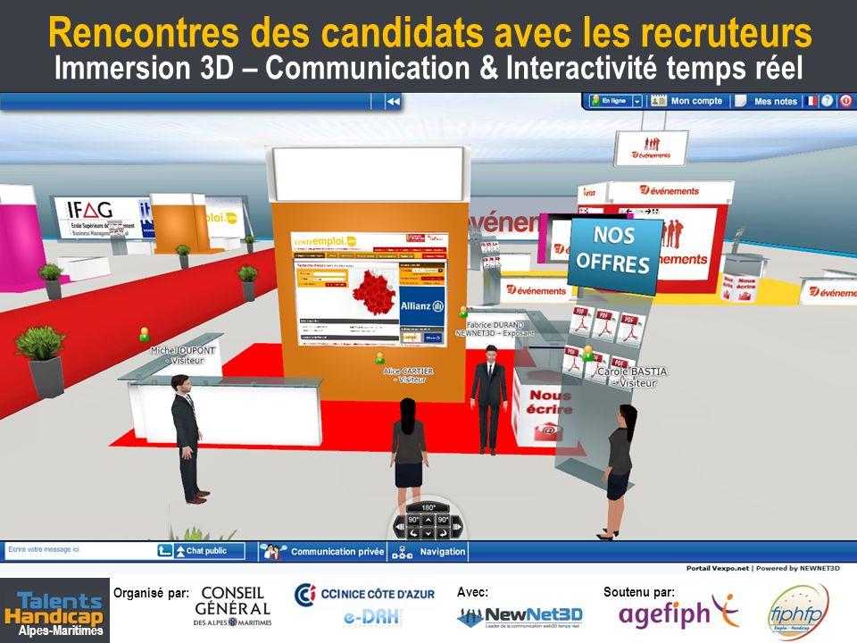 Rencontres des candidats avec les recruteurs