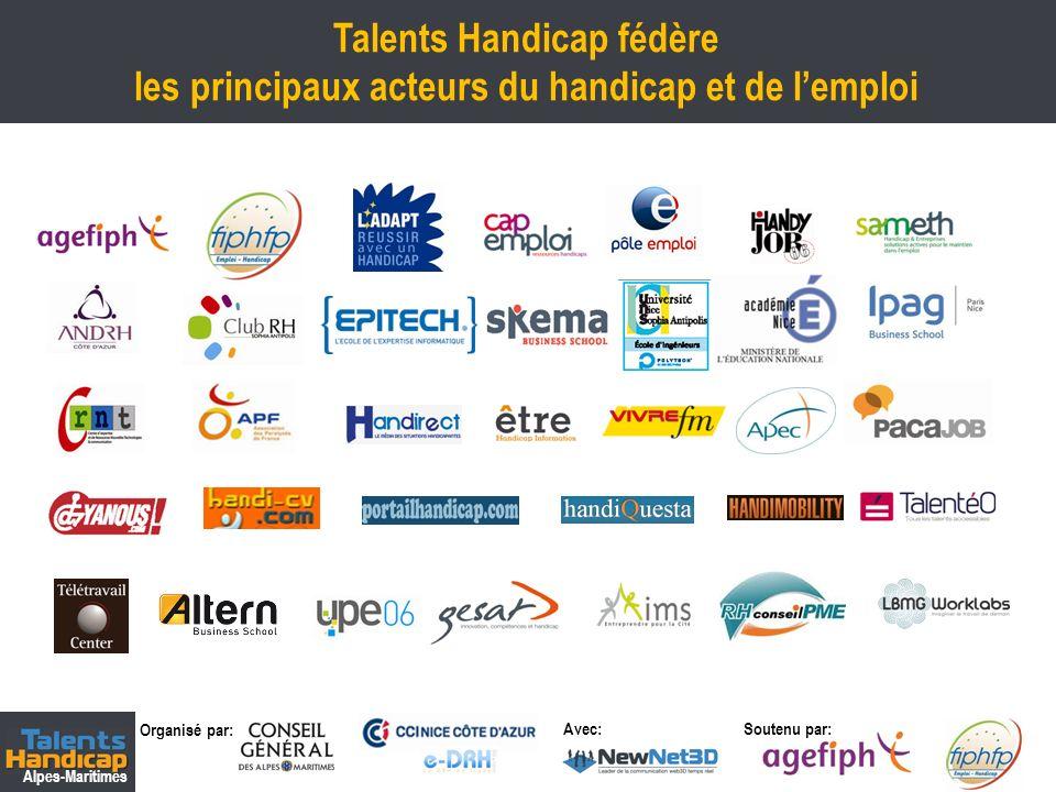 Talents Handicap fédère les principaux acteurs du handicap et de l'emploi
