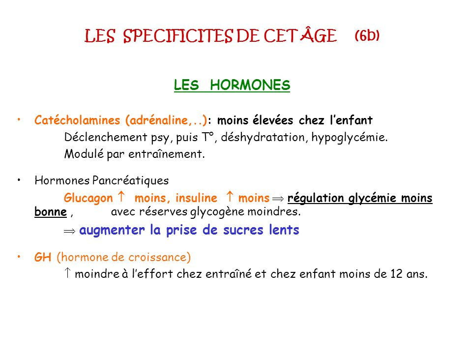 LES SPECIFICITES DE CET ÂGE (6b)