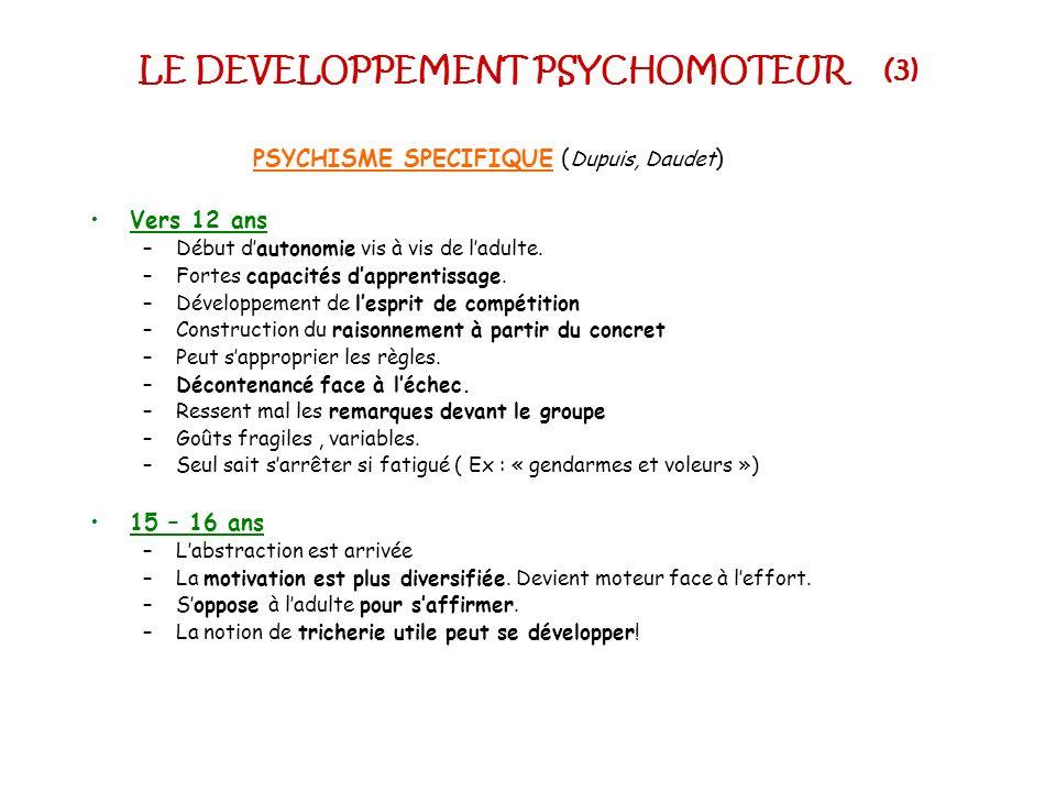 LE DEVELOPPEMENT PSYCHOMOTEUR (3)