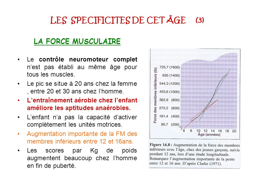 LES SPECIFICITES DE CET ÂGE (3)