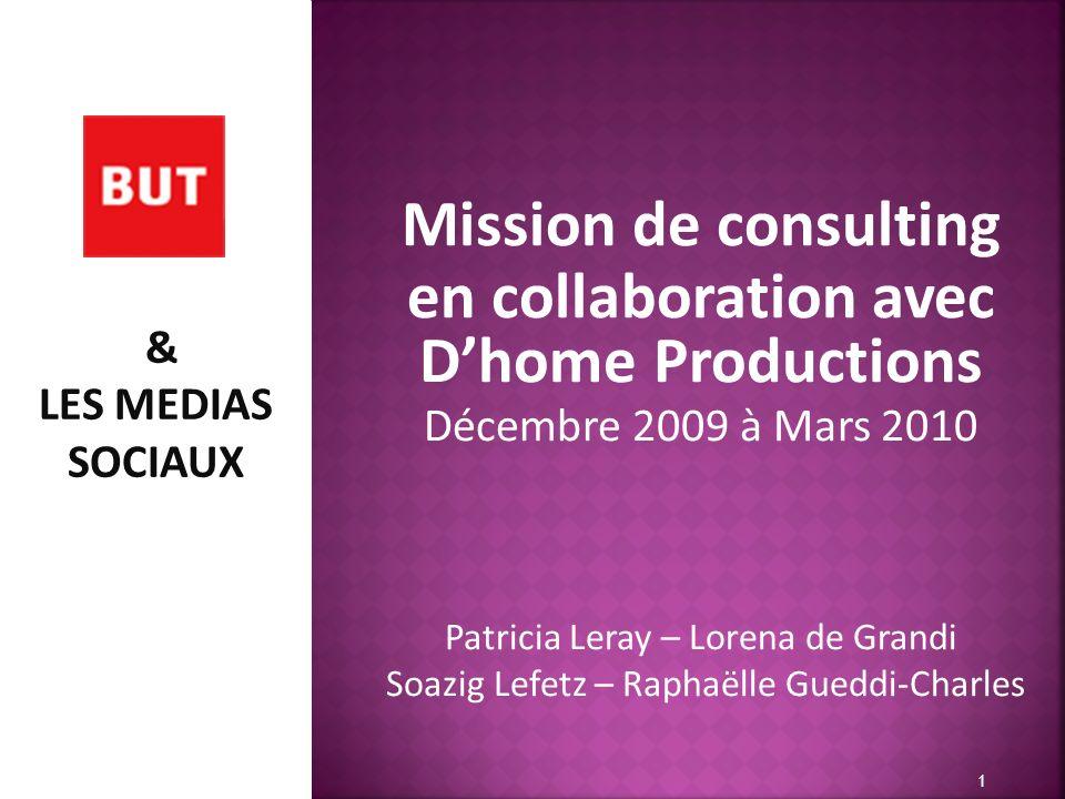 en collaboration avec D'home Productions