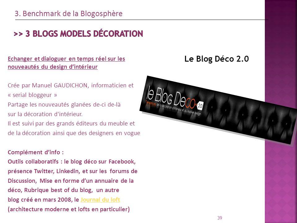 >> 3 blogs models décoration