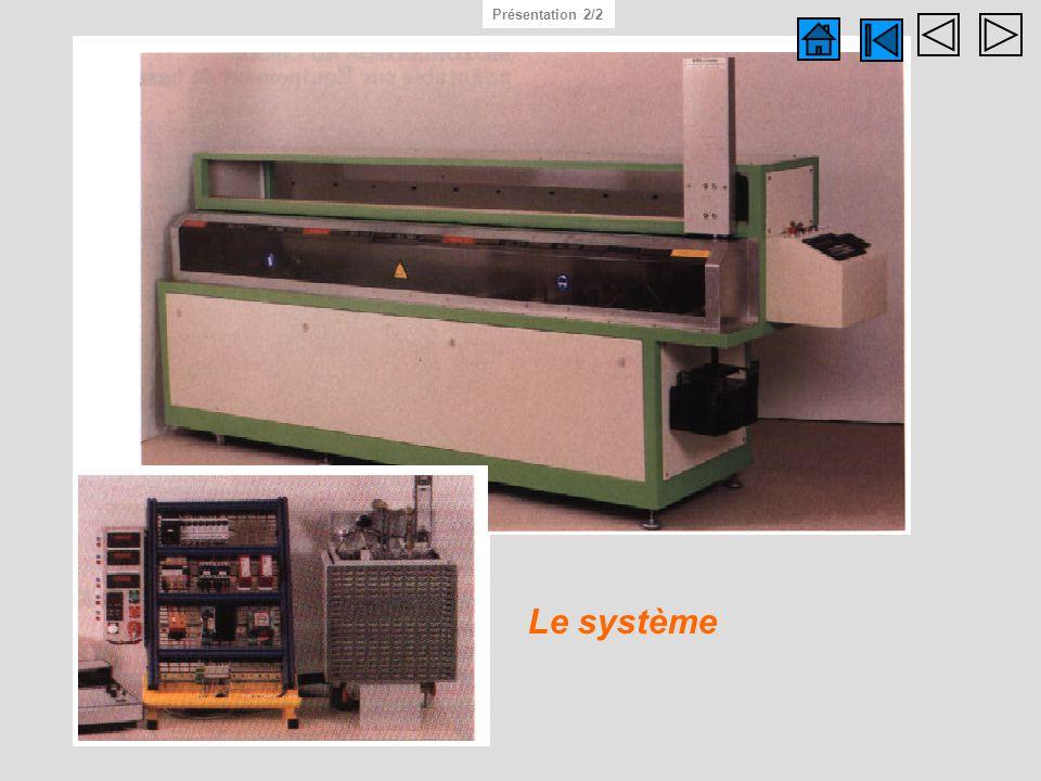 Photo système réel Présentation 2/2 Le système