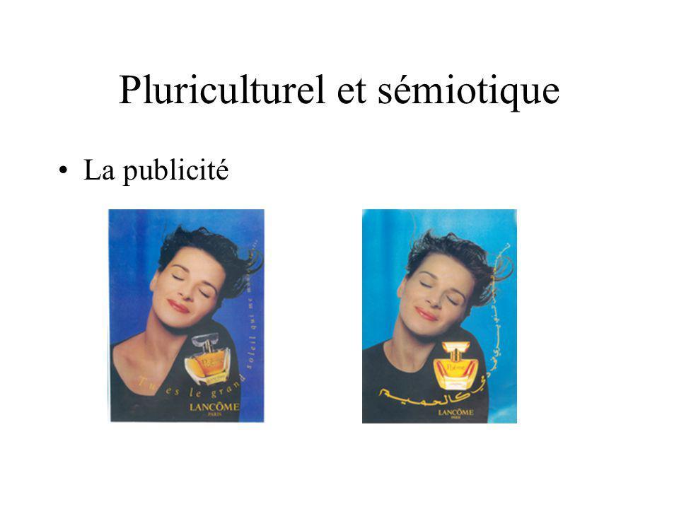 Pluriculturel et sémiotique