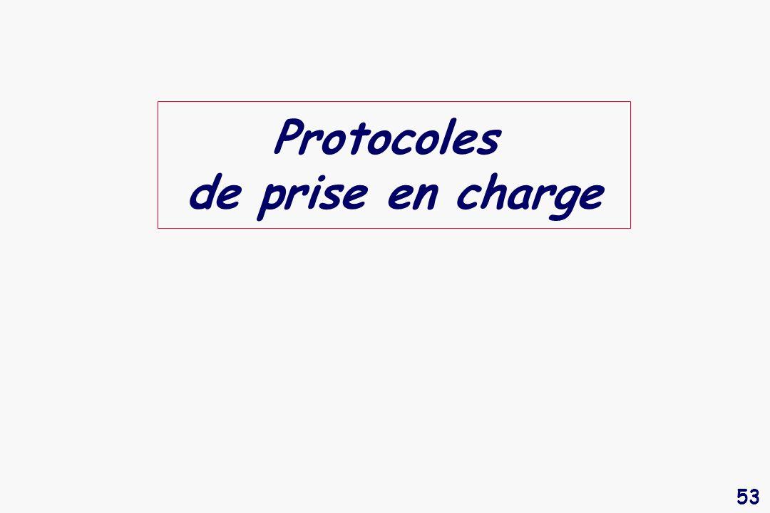 Protocoles de prise en charge