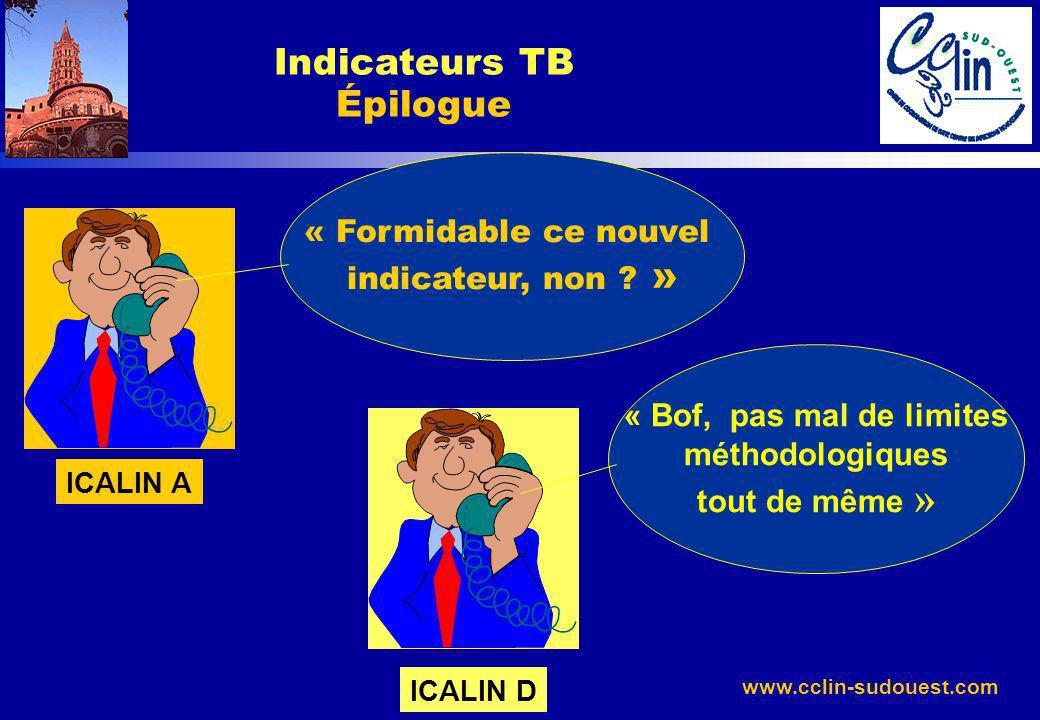 Indicateurs TB Épilogue