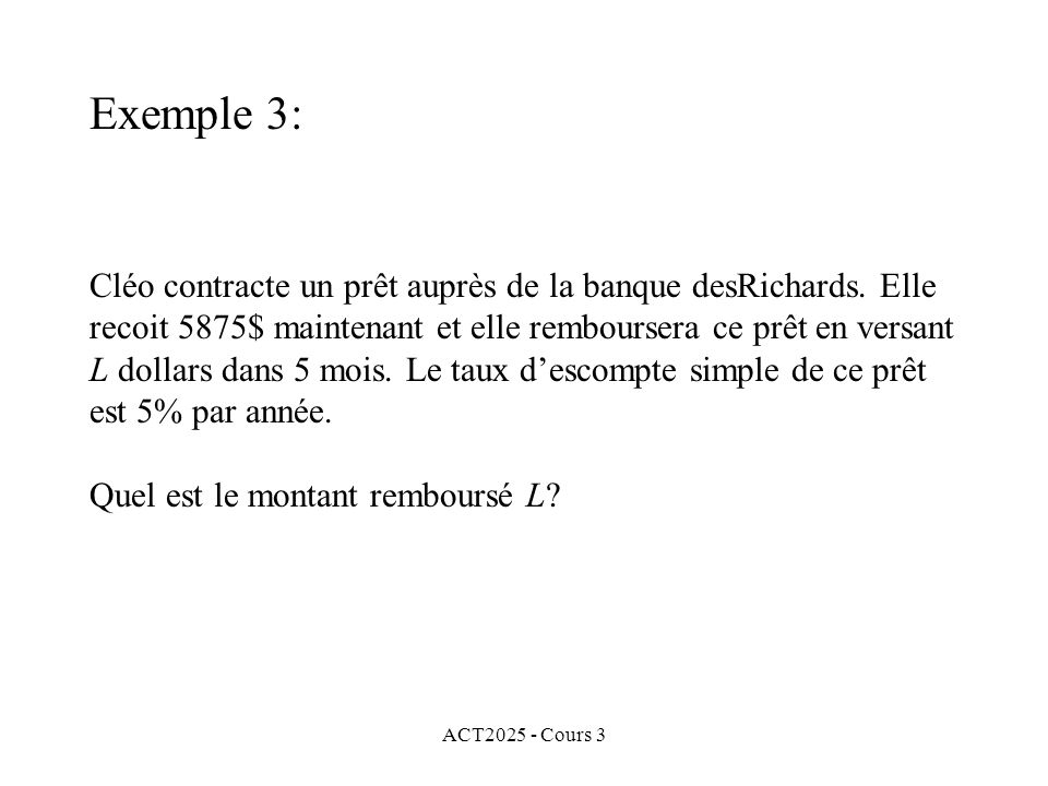 Exemple 3: