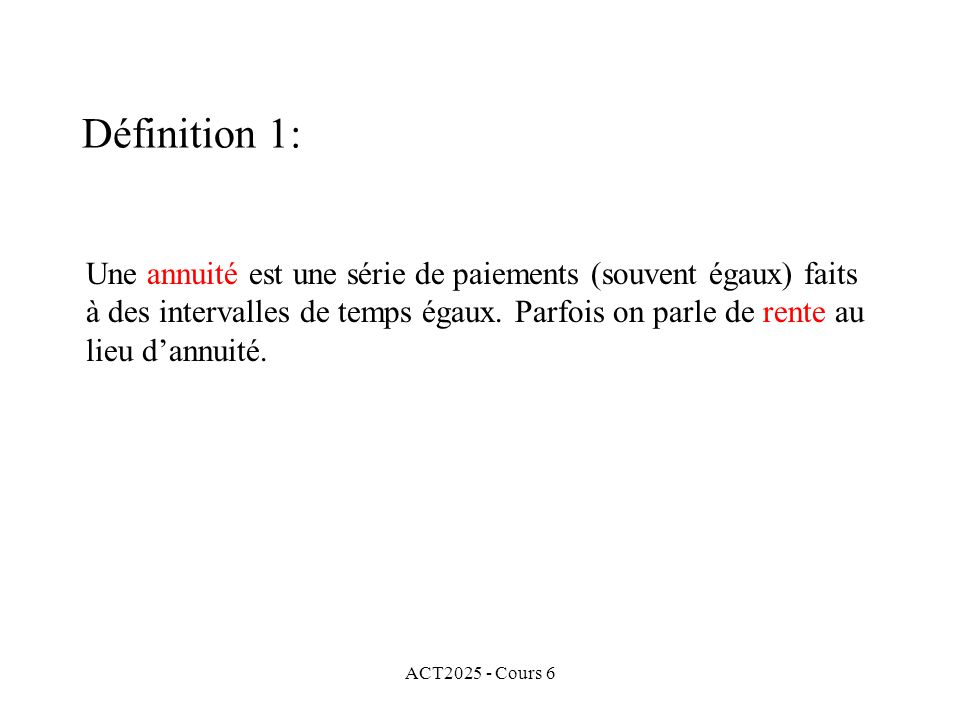 Définition 1: