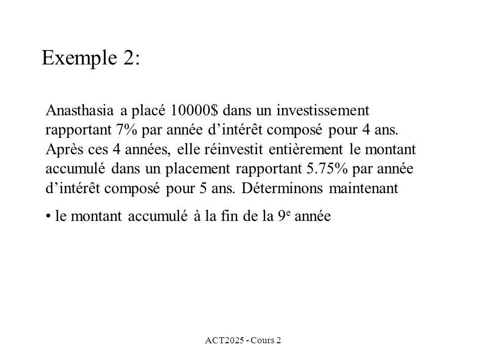 Exemple 2: