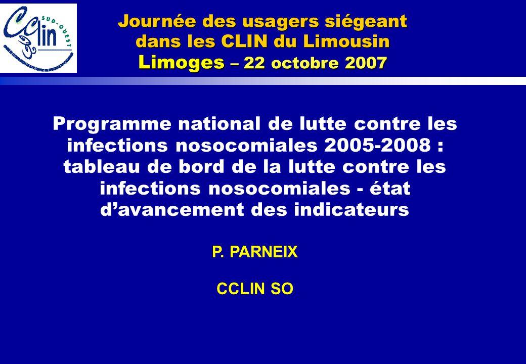 Journée des usagers siégeant dans les CLIN du Limousin Limoges – 22 octobre 2007