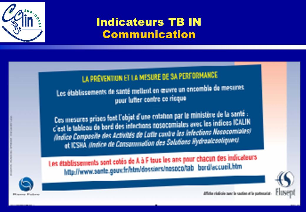 Indicateurs TB IN Communication