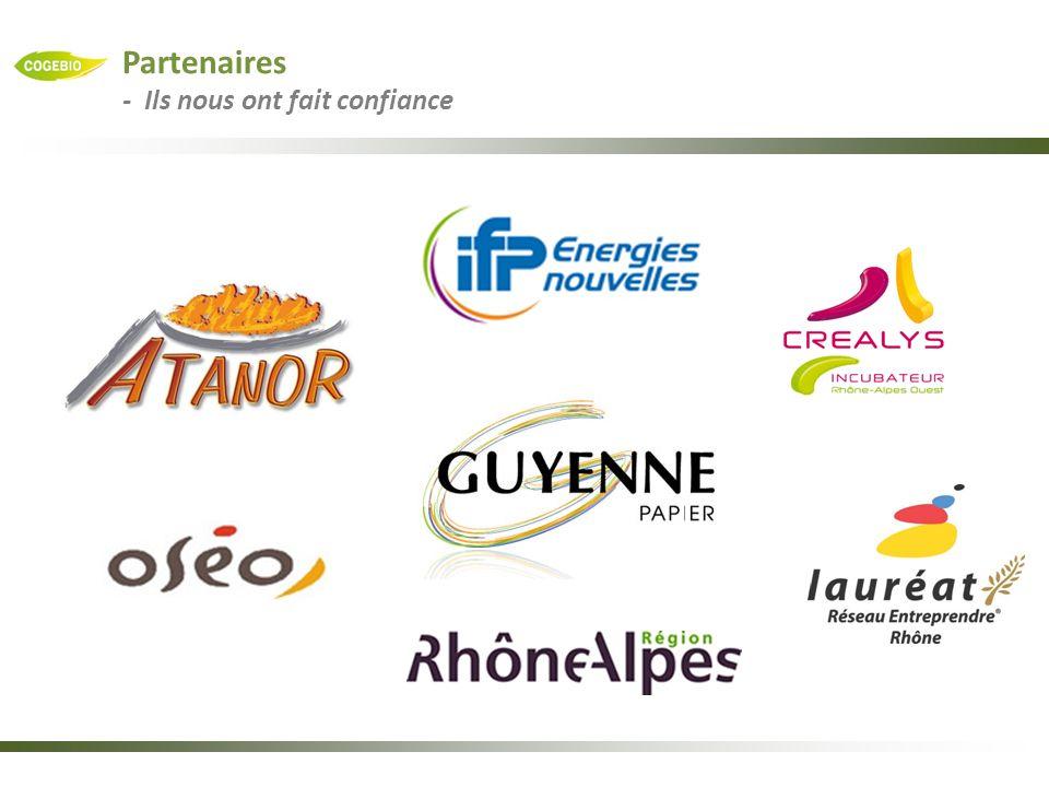 Partenaires - Ils nous ont fait confiance