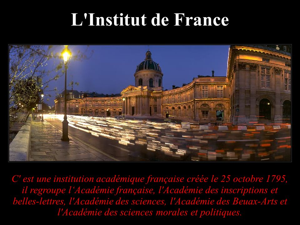 L Institut de France