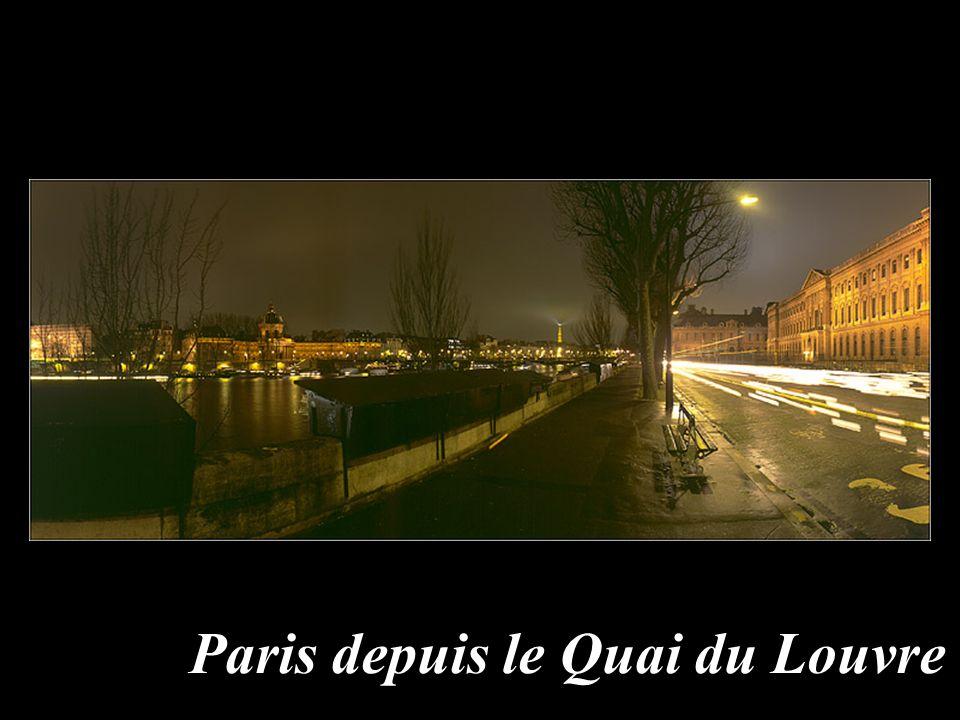 Paris depuis le Quai du Louvre