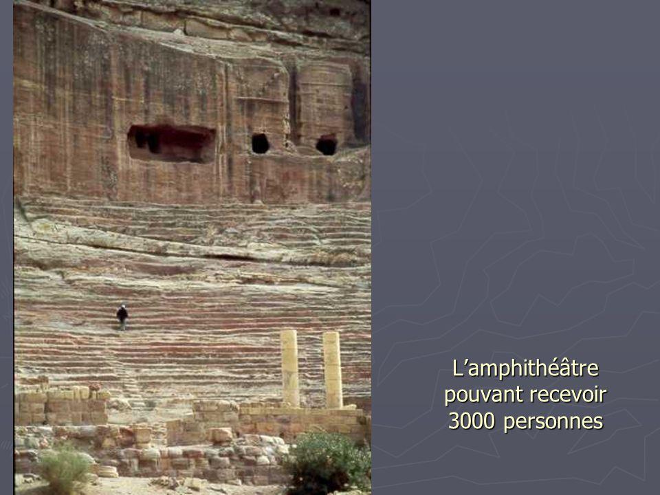 L'amphithéâtre pouvant recevoir 3000 personnes