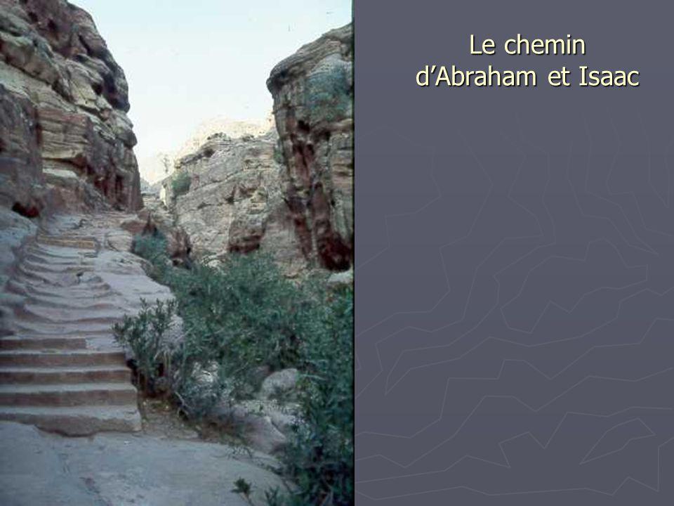 Le chemin d'Abraham et Isaac