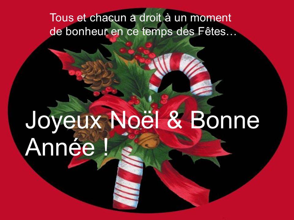 Joyeux Noël & Bonne Année !