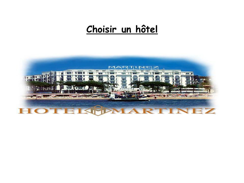 Choisir un hôtel